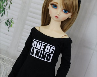 KPOP BJD Shirt, One of a Kind, 1/3 BJD Clothes, For Dollfie Dream or SD10