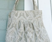 free shipping in US-- Dark Khaki Bag / Purse w/ Double Straps