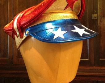 Wonder Woman Inspired Crush Cap