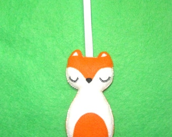 Christmas Tree Ornament - Fox Ornament - Fox Christmas Ornament - Fox Christmas Decoration - Christmas Ornament