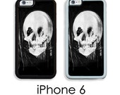 iPhone 6S 6 or PLUS Skull VANITY Evils of Vanity illusion Art Skull Woman Your Trim Choice Hard , Rubber or Tough Cases