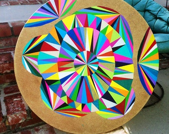 Original Geometric/Abstract Art//Painting//Contemporary Wall Decor
