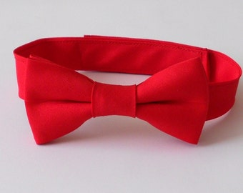 Red Bowtie - Infant, Toddler, Boys- 2 weeks before shipping