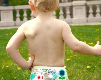One Size AI2 Cloth Diaper Cover - Farm Fun - FAST SHIPPING