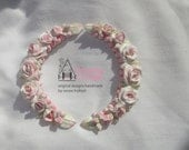 Pair of Furniture Appliques   Handmade Original   Shabby Chic Romantic Vintage Cottage Style