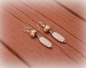 Dangle Earrings, Tribal Earrings, Bohemian Jewelry, Long Earrings, Ethnic Earrings, Beaded Dangle Earrings