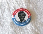 "Re-Elect Mayor ""Goldie"" Wilson - Back to the Future Button"
