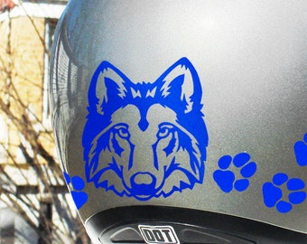 Be Seen With Reflective Decals And Stickers By SewardStreetStudios - Reflective motorcycle helmet decals
