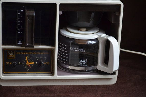 Ge Coffee Maker How To Use : GE Spacemaker Coffee Maker Under the Cabinet Coffee Maker