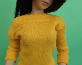 Goldenrod Yellow Shirt for MSD SD+ Ball Jointed Doll