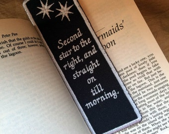 Peter Pan, Second Star to the Right Bookmark