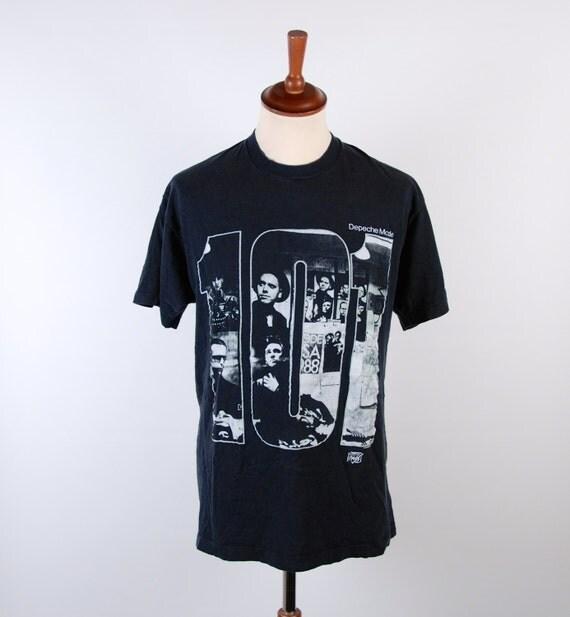 depeche mode 101 t shirt authentic excellent condition. Black Bedroom Furniture Sets. Home Design Ideas