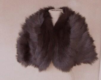 Vintage 60s' - I Magnin Fur Theater Cape