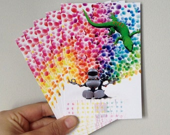 Candy Dots Postcards
