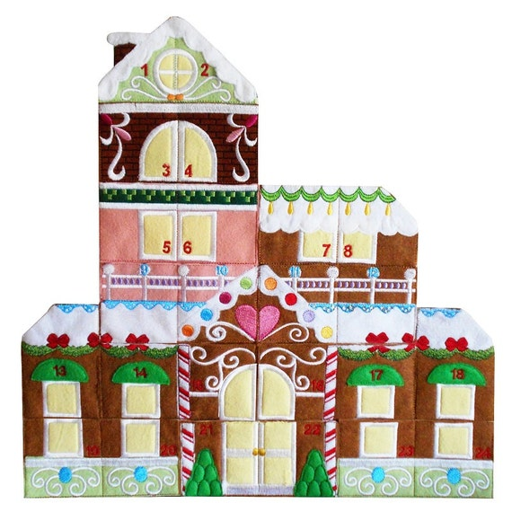 Machine Embroidery Designs Advent Calendar