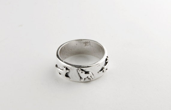 Wolf pack ring - photo#23