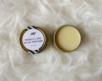 French Love Solid Perfume Tin - 0.5 oz