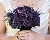 Gothic Wedding - Gothic Bouquet - Alternative Bouquet - Wedding Bouquet - Bridal Bouquet - Keepsake Bouquet - Heirloom Bouquet - Deposit
