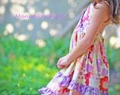 Halter Gypsy Caravan  Dress