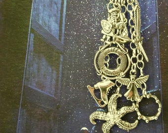 Kate Bush Charm Necklace - FOUNTAIN BEFORE The DAWN - silver plated - Limited Edition - Etsy Uk