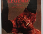 "Rare ""Legend"" Vinyl Soundtrack (British Version) Jerry Goldsmith LP - Very Good Condition"