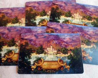 6 Maxfield Parrish The Broadmoor Hotel Vintage Playing Cards