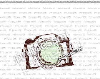SALE #3 CAMERA clipart 1 PNG file - Digital Camera Clip Art cute camera photography clipart for  photographer by princessmi