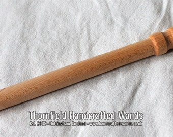 Maple Turned Wand 02