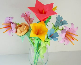 Bouquet of 9 Flowers