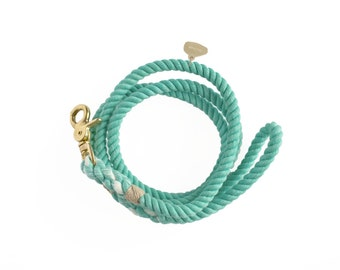 Hand-dyed Cotton Rope Dog Leash: Dream No.1