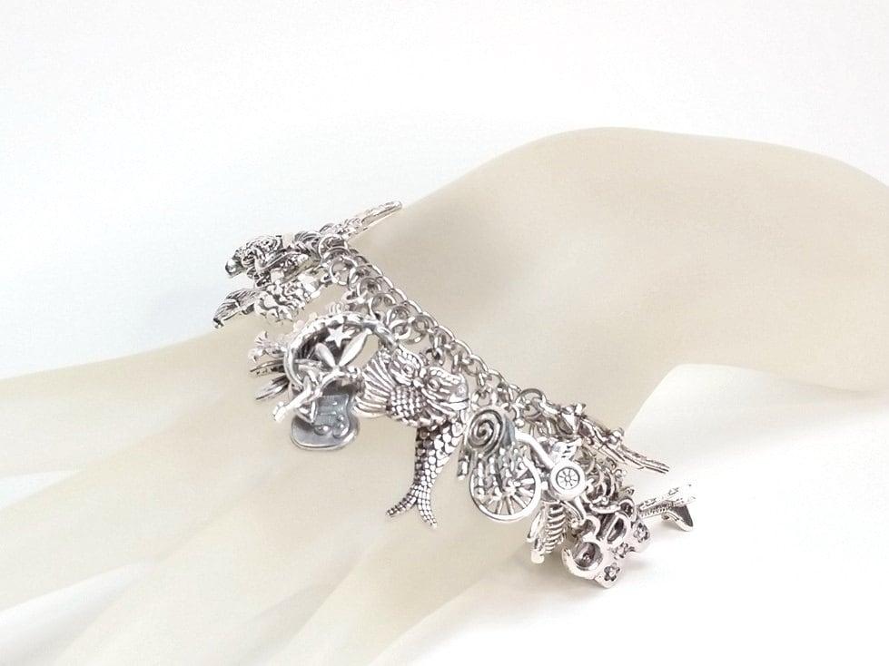 Do It Yourself Jewelry: Charm Bracelet Kit Do It Yourself Jewelry Making Kit Over 50