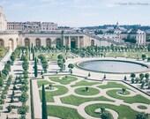 PARIS Photography, VERSAILLES Palace, FRANCE, garden, travel Paris, travel Europe, France print, architecture, scenic, Europe, European