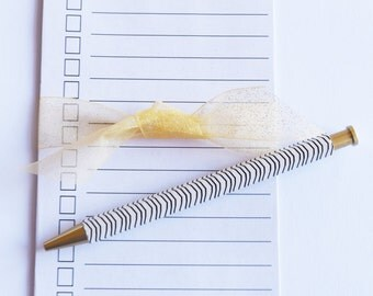 To do list notepad, Magnetic Notepad, DIY Craft List, Bucket List, To do List