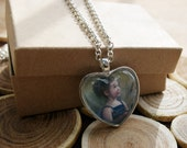 Customized Portrait Photo Necklace, Pendant, Charm, Jewelry, Thinking of You, I Love You, Memorial