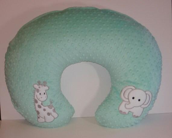 Elephant Amp Giraffe Boppy Cover Nursing Pillow By Momacreates