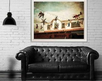 Fiesta Fiesta - fine art photograph, mexican architecture photo, cozumel mexico photo, desert decor, rustic, mexican decor