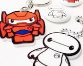 A Huge Hero - Key Chain and Pin Badge