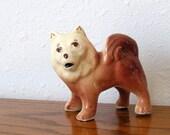 Vintage Husky Samoyed Akita Malamute Arctic Dog Figurine
