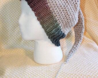 SALE!!! Woodland ELF BEANIE Natural Wool and Felt