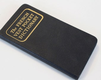 Vintage The French Vest Pocket Dictionary - 1954
