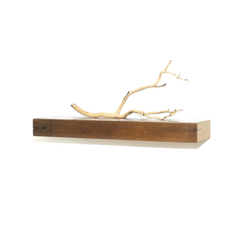 Reclaimed Wood Floating Shelf 24 By Christopheroriginal On