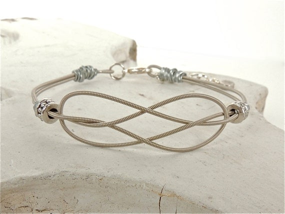 GUITAR STRING BRACELET - by FabTabulous on Etsy