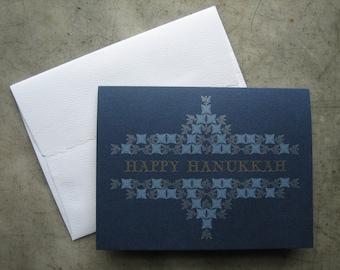 A-2 Size Letterpress Hanukkah Cards - box of 10