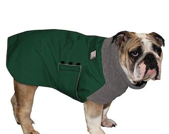ENGLISH BULLDOG Winter Coat, Dog Winter Jacket, Waterproof Dog Coat, Winter Clothes, Dog Clothes, Dog Clothing, Fleece Neck Warmer, Pet Coat