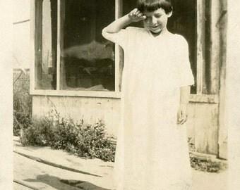"""Vintage Photo """"Sleepy Eyes"""" Girl Waking Up Cute Snapshot Photo Old Antique Photo Black & White Photograph Found Photo Paper Ephemera - 13"""