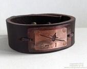 Custom Men's Airplane Bracelet.