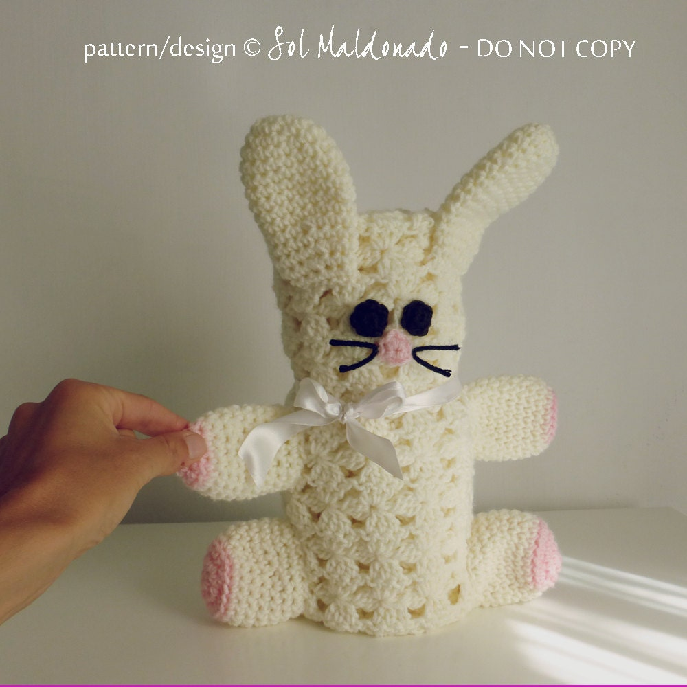 Amigurumi Baby Blanket : Baby Blanket Crochet Pattern Rabbit amigurumi toy and