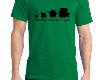 Theory of  Pokevolution Bulbasaur Tee Shirt
