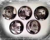 "Classic Monsters 1"" Button Choose Your Own"