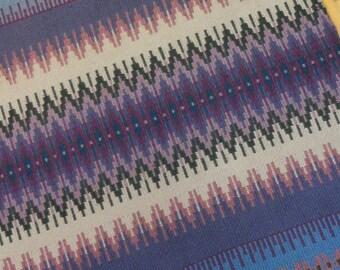E634 Boundweave Rug, The Blues Floor or Wall Hanging, Zen Meditation Rug
